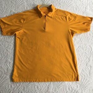 Patagonia Zip Up, Collared, Short Sleeved Shirt